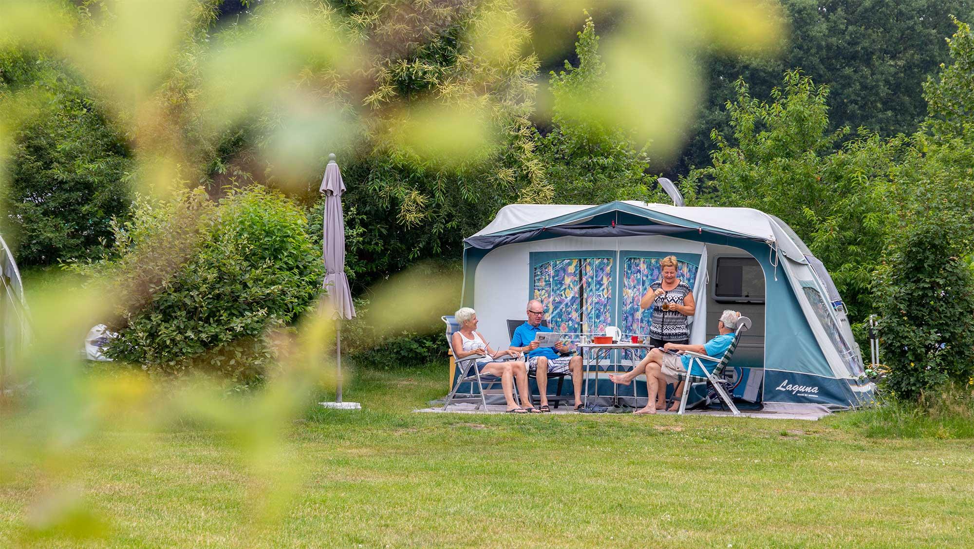 Comfortplaats kamperen Molecaten Park Landgoed Ginkelduin 07