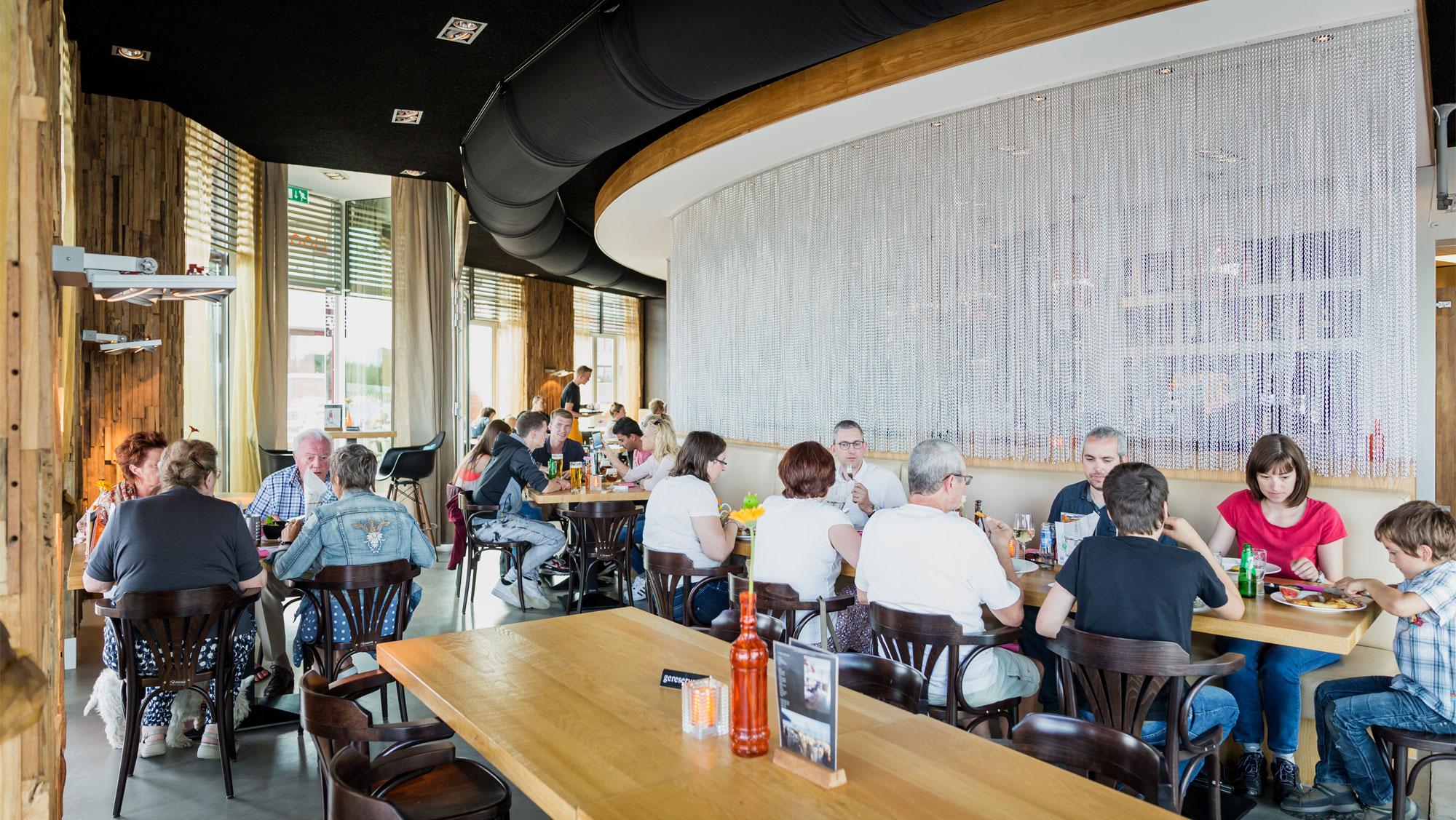 Restaurant Boofoor op Molecaten Park Flevostrand 12