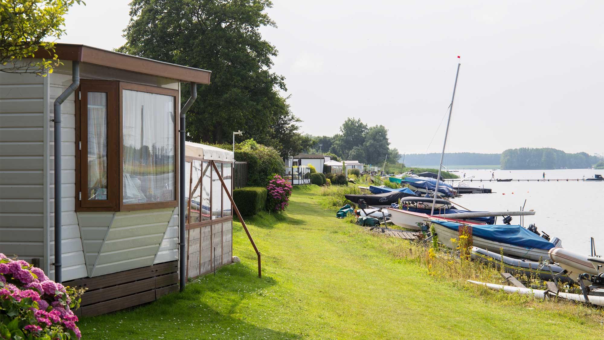 Molecaten Park Kruininger Gors 06 strand Brielse meer