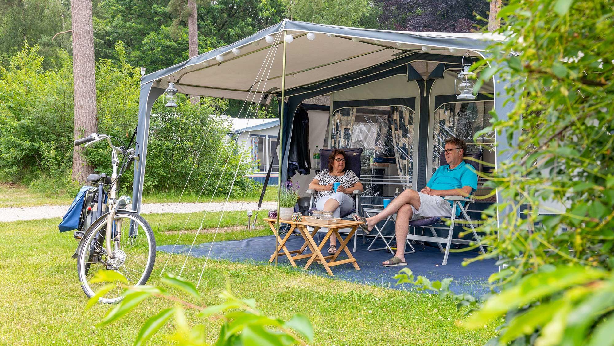 Seizoenplaats kamperen Molecaten Park Landgoed Ginkelduin 01