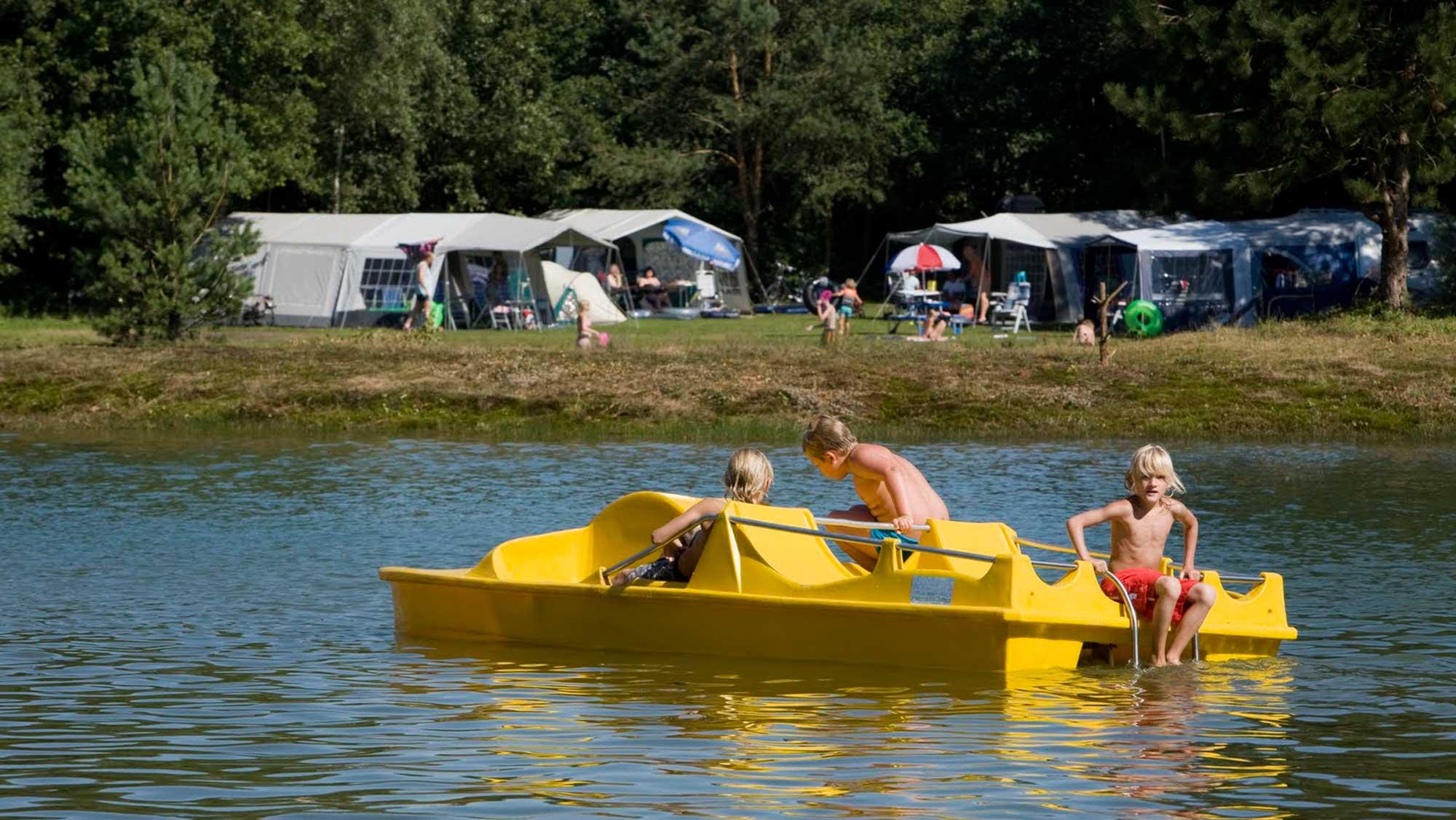 Basisplaats eenoudergezin kamperen Molecaten Park Kuierpad 05