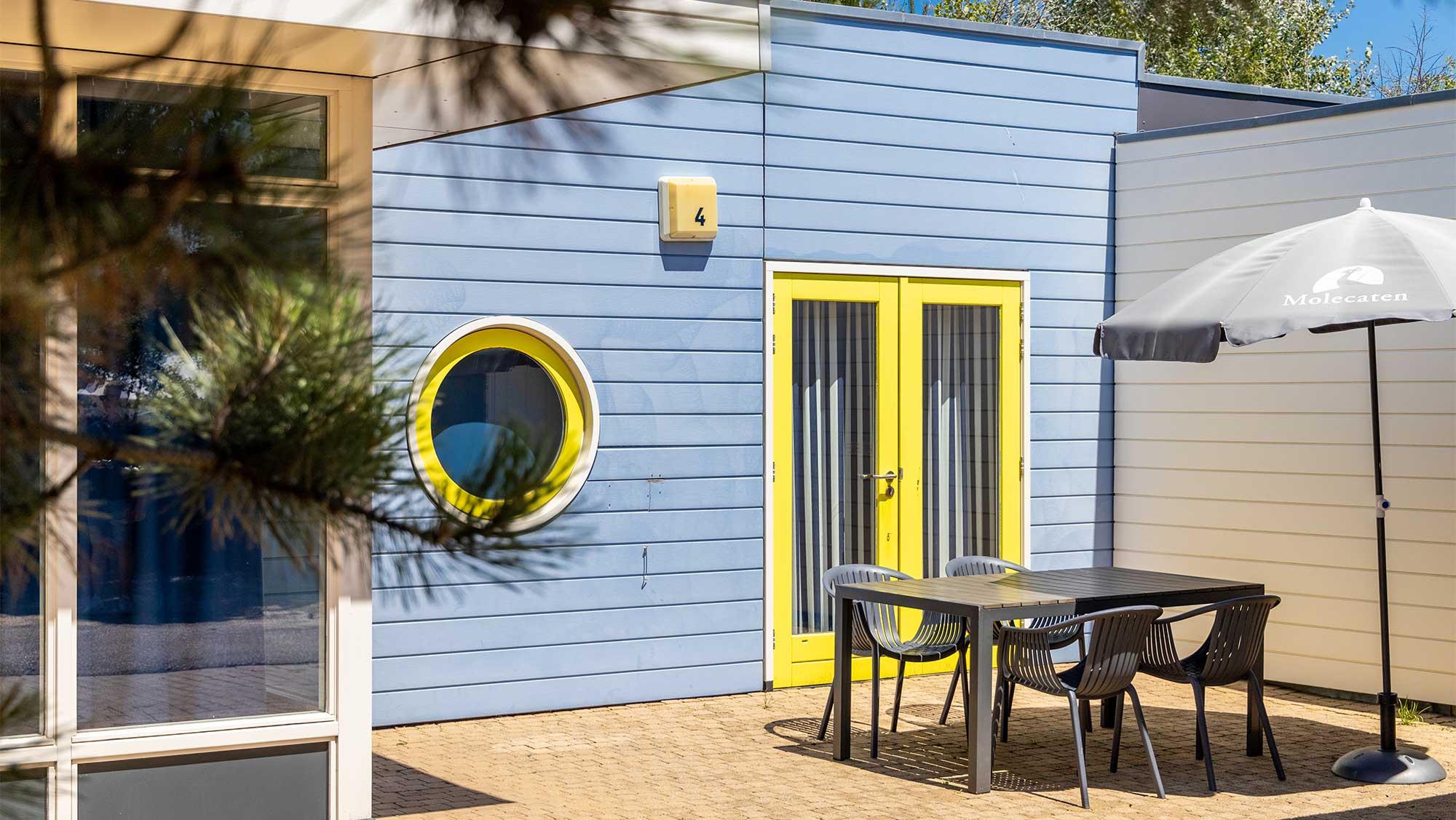 4pers bungalow Duinhuisje MiVa Molecaten Park Noordduinen 01
