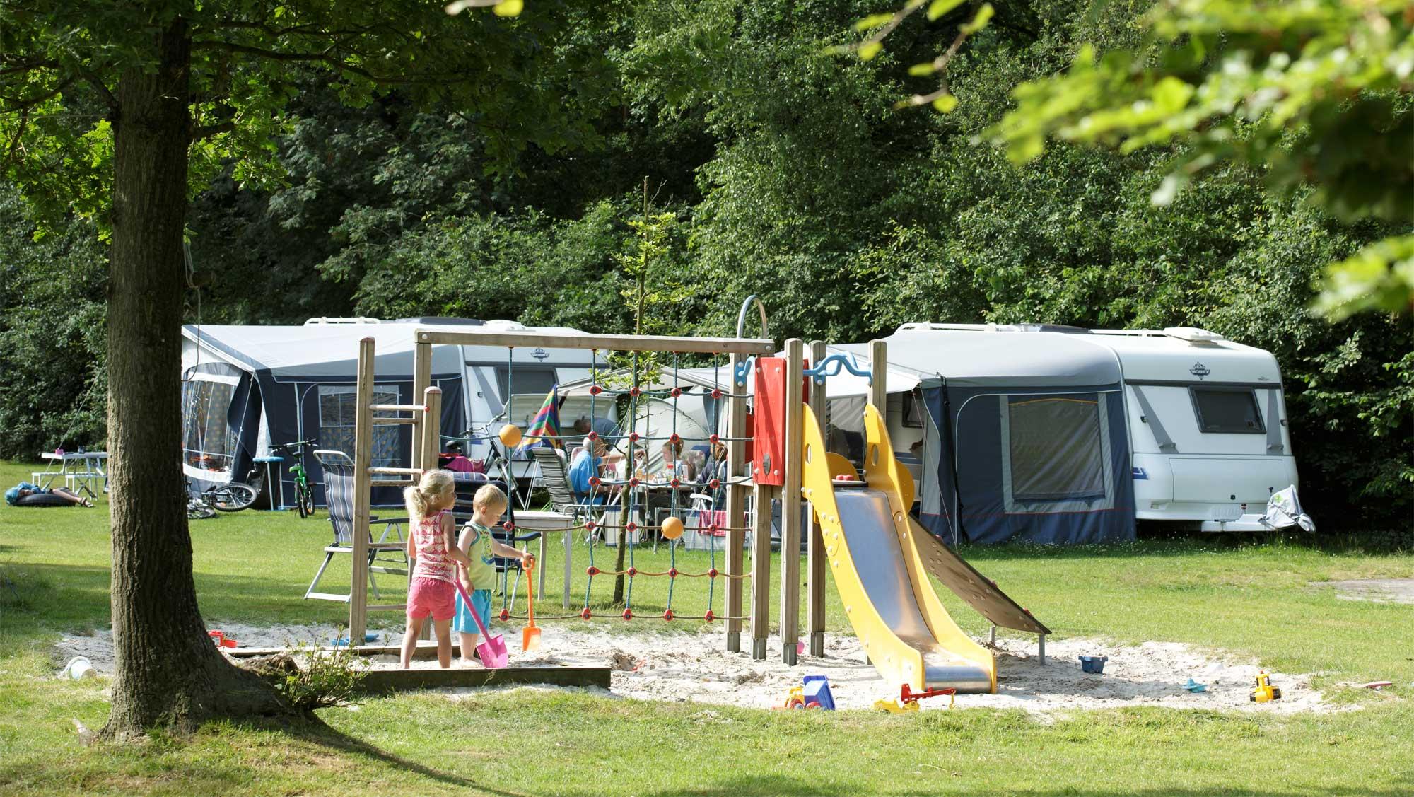 Comfortplaats A kamperen Molecaten Park t Hout 03