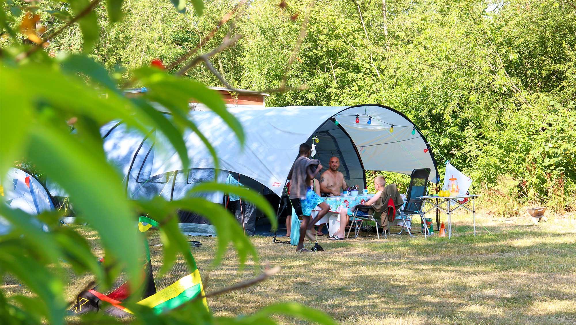 Molecaten Park Het Landschap 01 ingerichte Drenthe tent