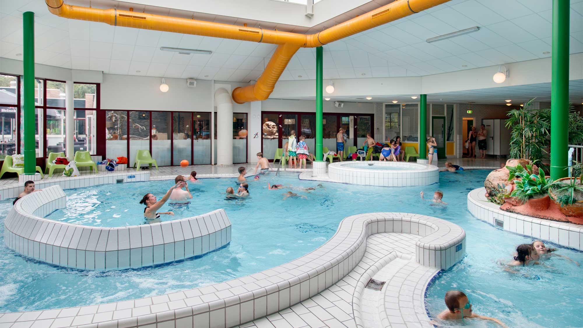 Molecaten Park Landgoed Ginkelduin 12 binnenzwembad