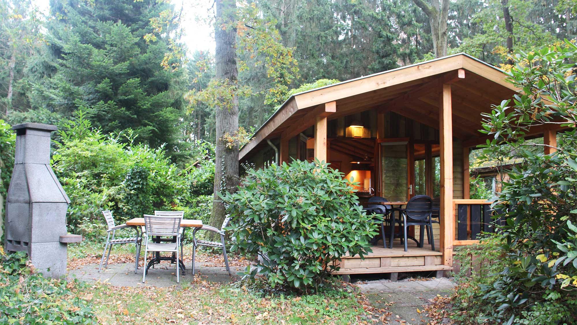 4pers bungalow bos huus Molecaten Park Landgoed Molecaten 01