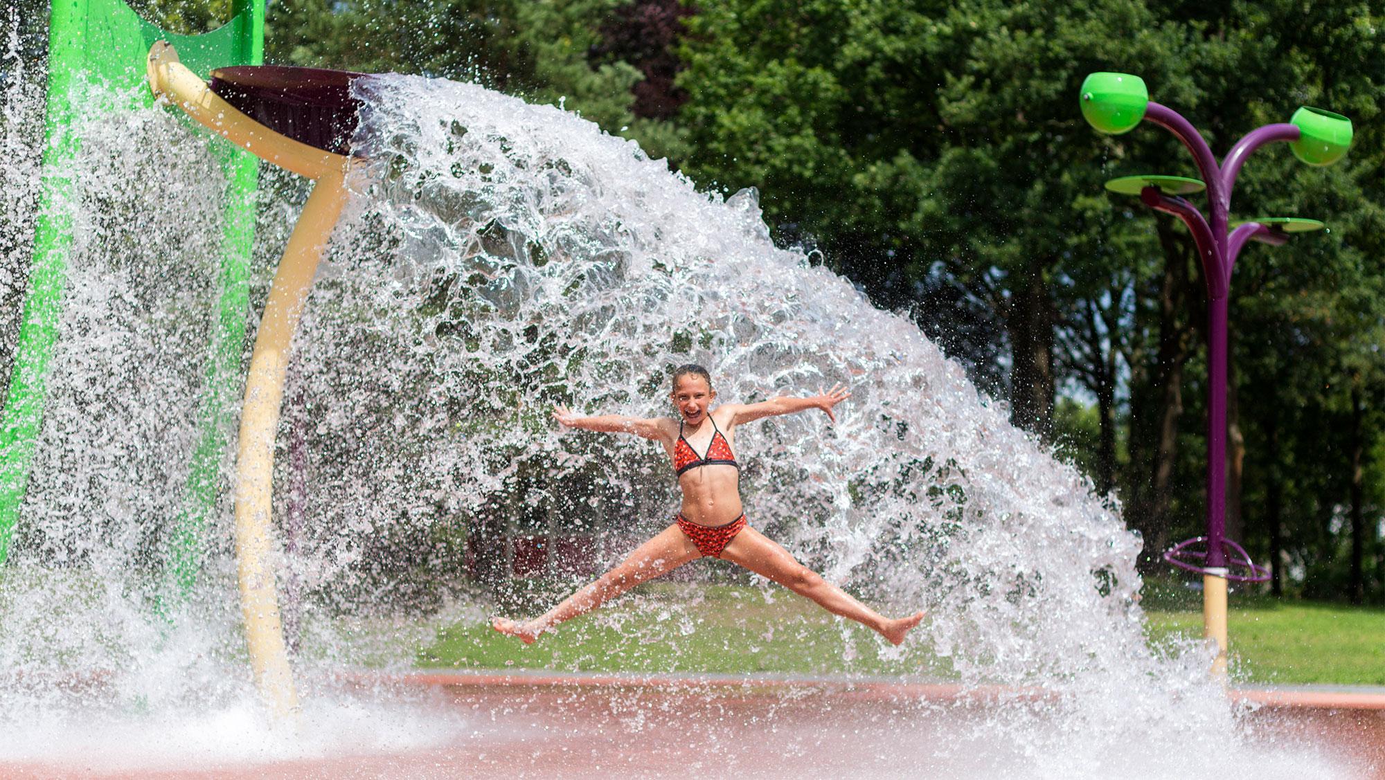 Molecaten Park Bosbad Hoeven 17a Waterspeelpark Splesj
