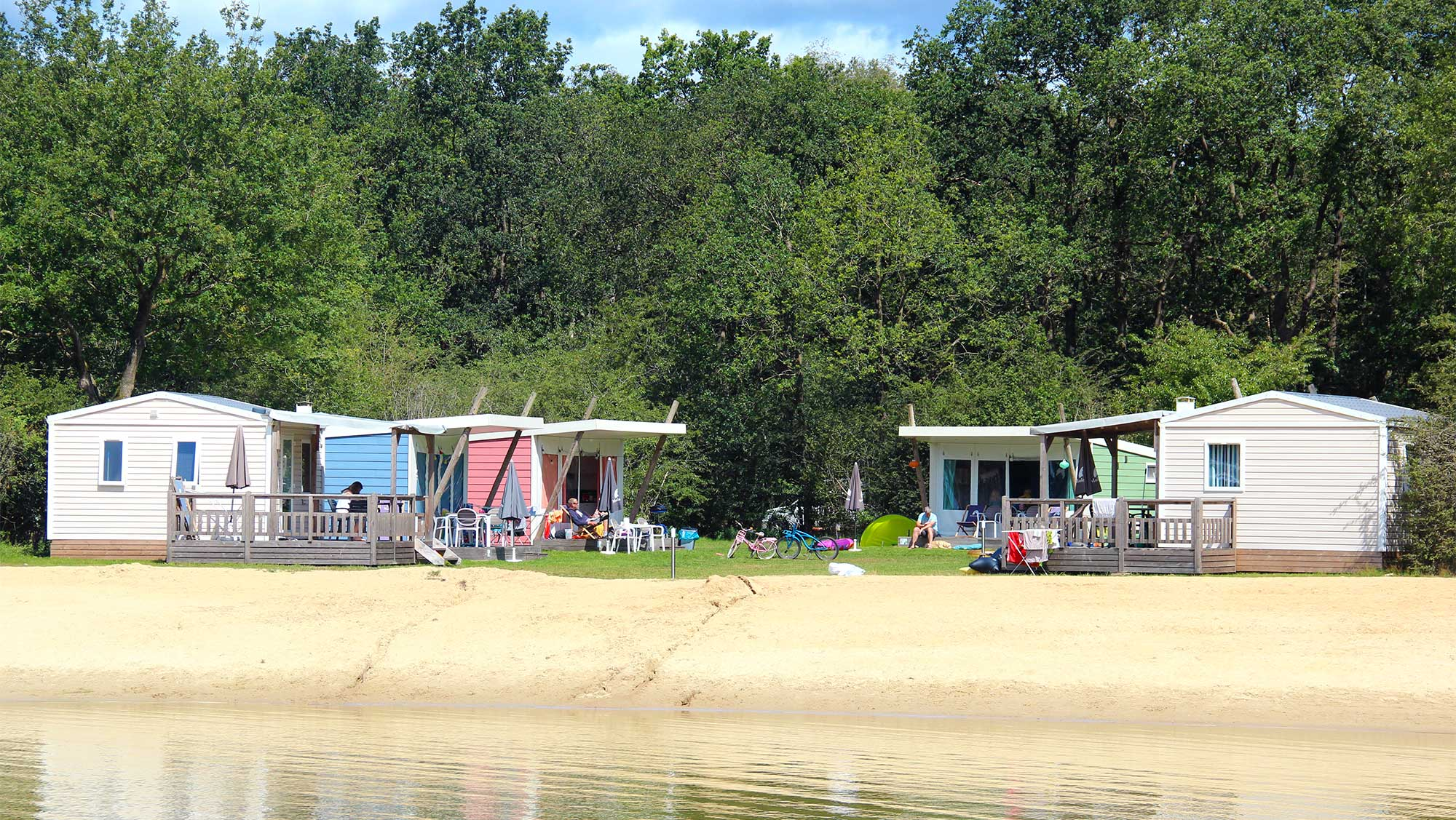 5pers kampeer cabin Vlinder Molecaten Park Kuierpad 01