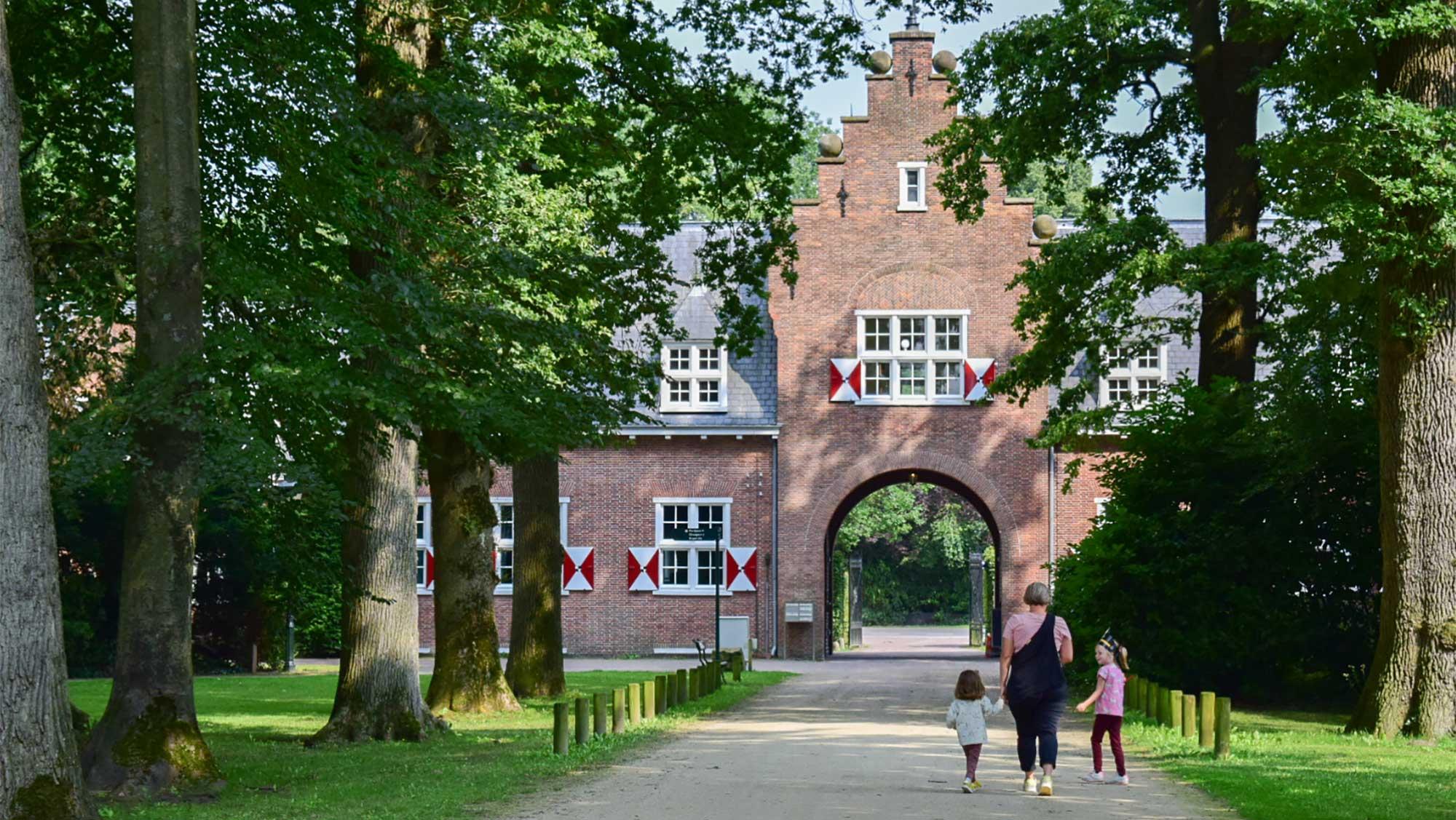 Omgeving Molecaten Park Landgoed Ginkelduin 13 kasteel