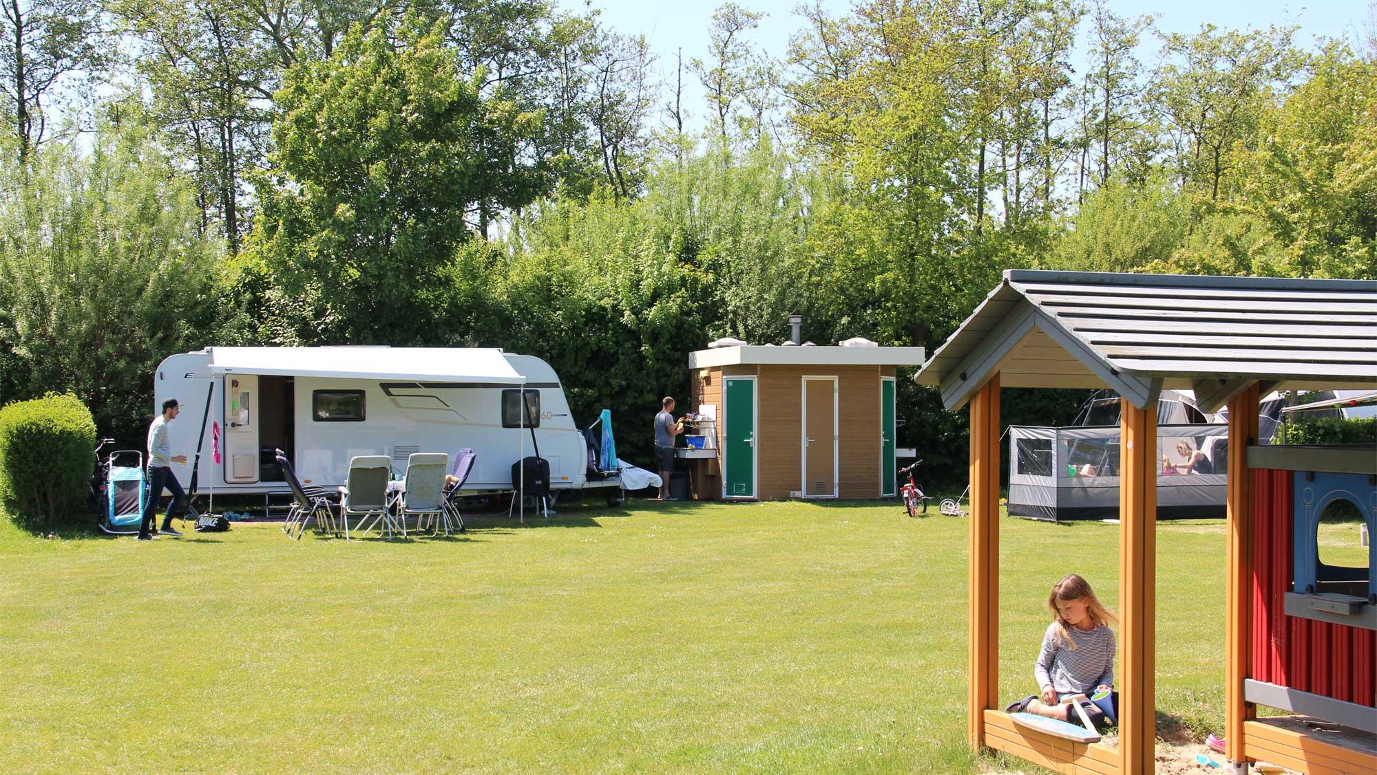 Comfortplusplaats kamperen Molecaten Park Wijde Blick 02