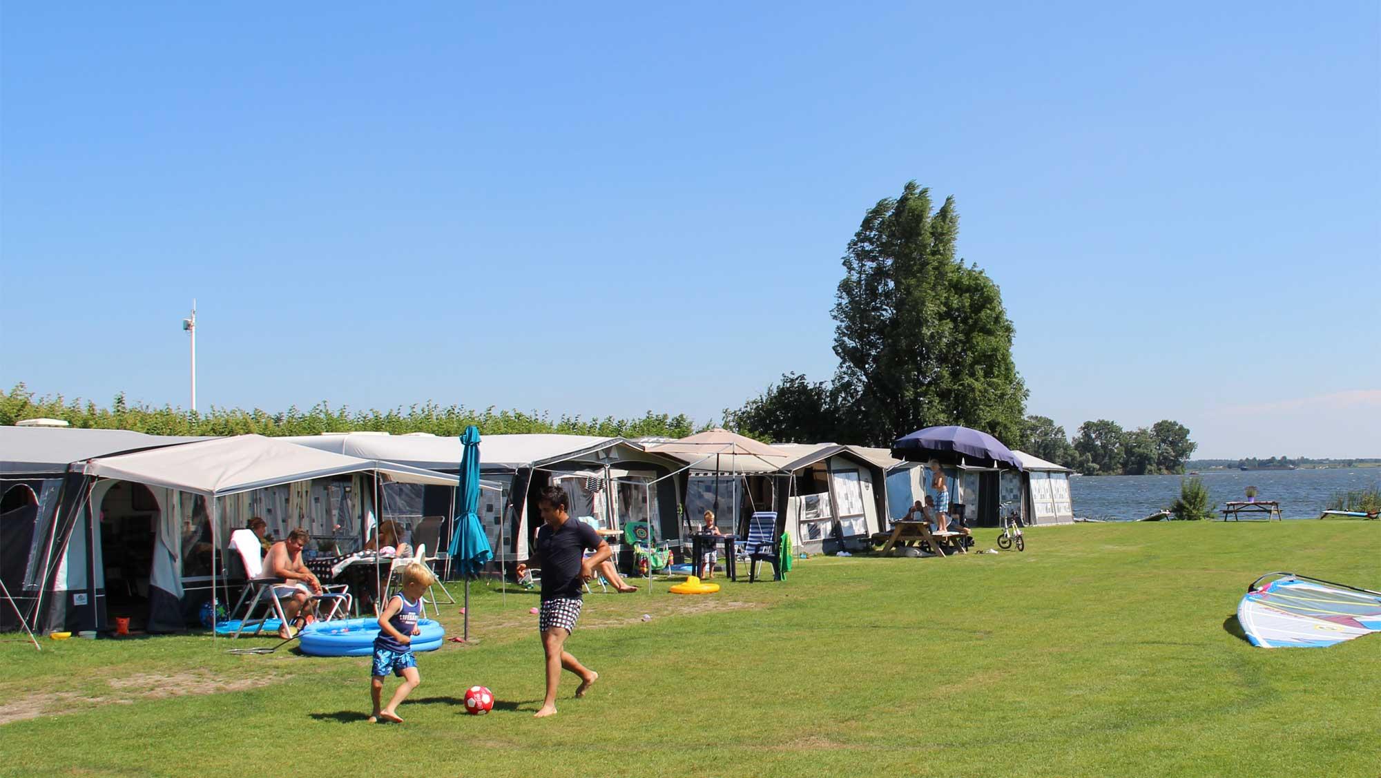 Seizoenplaats kamperen Molecaten Park Flevostrand