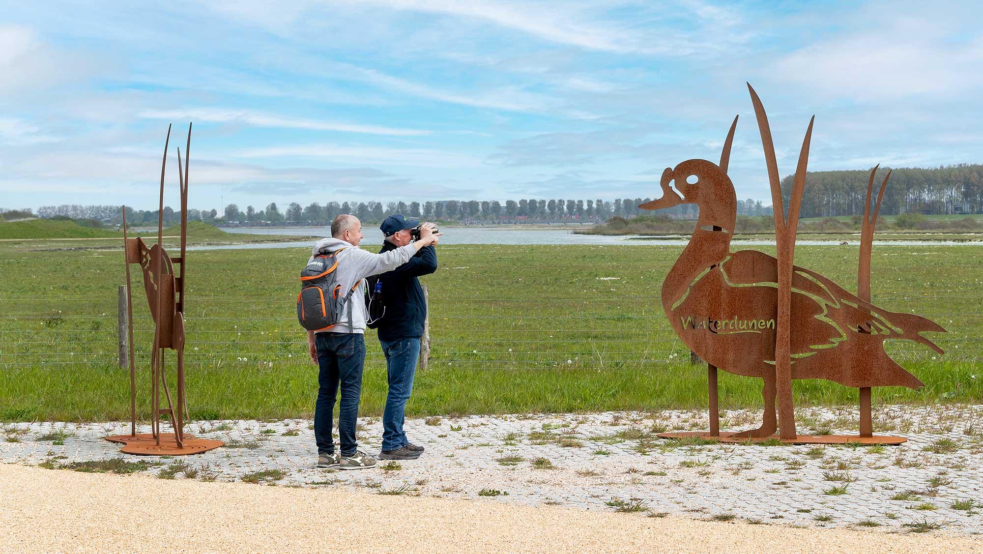 Omgeving Molecaten Park Hoogduin 10 fietsen