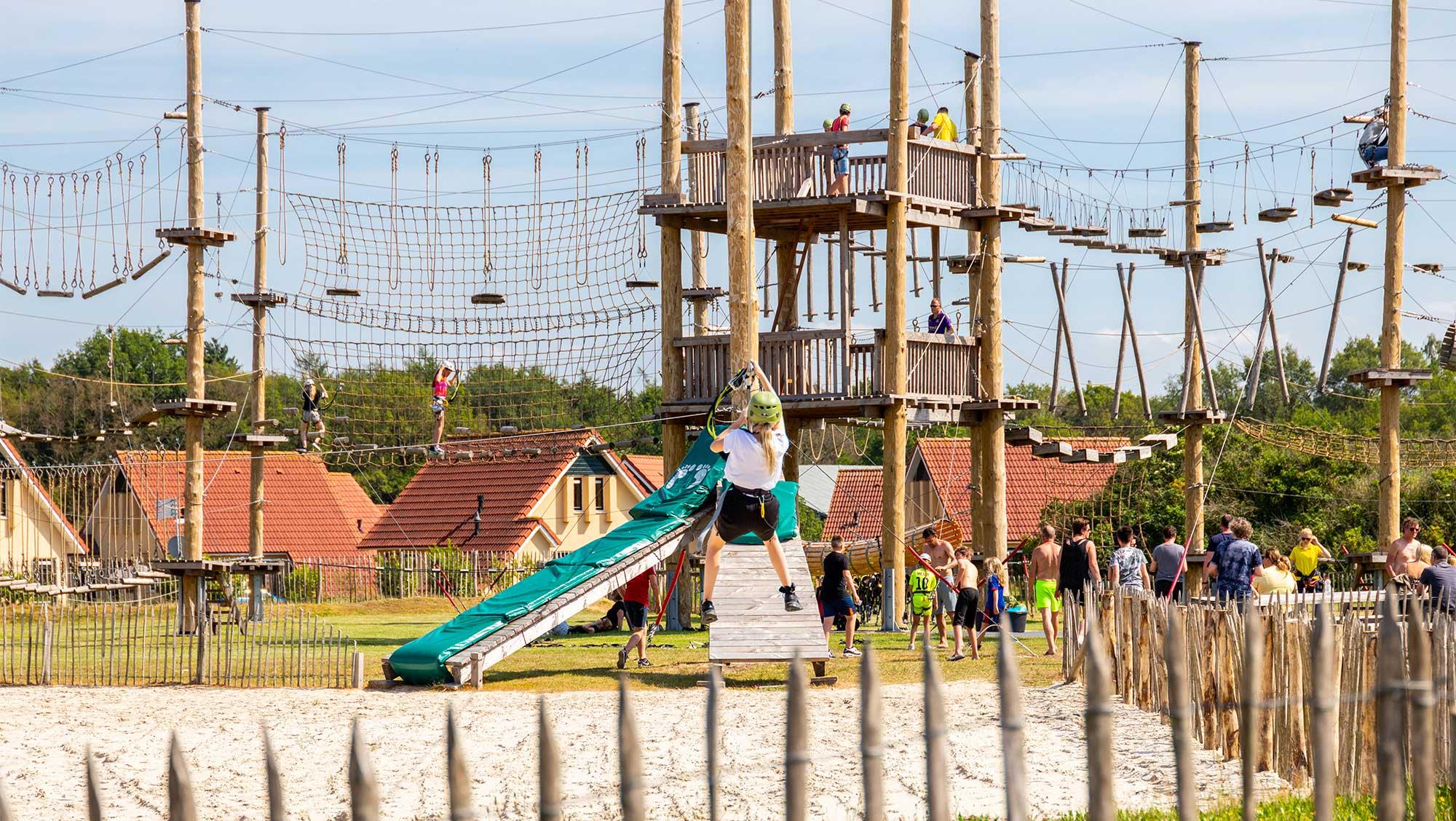 Parcoursen klimpark Molecaten Outdoor Drenthe 02